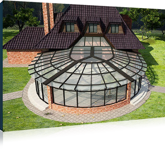 Стеклянные конструкции <br> для зимнего сада